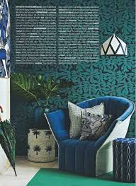 african daydreams african inspired home decor editorial blue