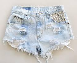 light wash denim shorts the faded fridays high waisted shorts studed light wash denim