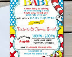 dr seuss baby shower invitation for baby shower simple dr seuss baby shower