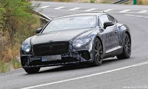 bentley phantom coupe 2018 bentley continental gt spy shots and video