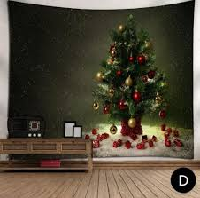 ikea christmas tree tapestry in room large rectangle christmas