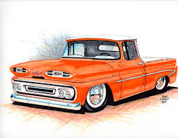 old cars drawings 1961 apache truck sketch myrideisme com