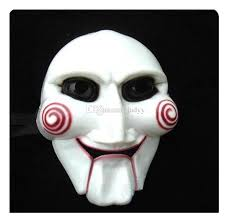 scary masks white cheap wholesale mask the saw masks party supplies