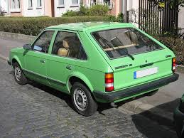green opal car opel kadett