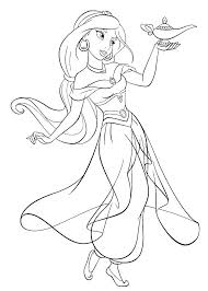Disney Jasmine Coloriages A Jasmine S S Jasmine Disney Coloriage