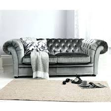 Chesterfield Velvet Sofa Grey Velvet Sofa Gray Sectional Holidaysale Club New Throughout 17