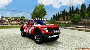 Ford Raptor Farm Truck - ford f150 raptor svt interior v2 0 for ets 2 zagruzka mods com