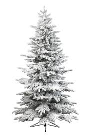 6ft luxury snow tipped tree artificial pine indoor