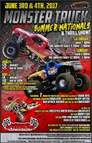 monster truck race track toys monster truck summer nationals u0026 thrill show day 2 in