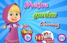 masha bear games games kids