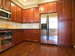 kitchen alluring medium oak kitchen cabinets painting white blue