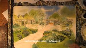 how to paint garden watercolour white house garden proposal www