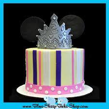 princess minnie mouse 1st birthday cake blue sheep bake shop
