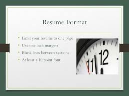 pieces of a resume business management ppt download