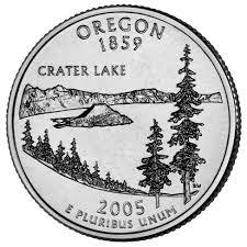 State Quarters Map by Oregon State Quarter U S Mint