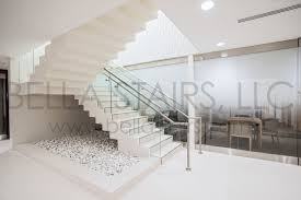 Glass Staircase Design Commercial Staircase Design Vitas Headquarters Bella Stairs