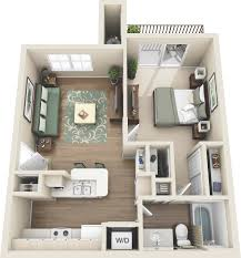 one and two bedroom apartments in colorado springs co