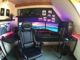 Linnmon Corner Desk by Full Gaming Room Pics Album On Imgur