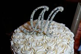pearl monogram cake topper beaded monogram wedding cake topper 5 pearls