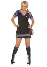 Torrid Halloween Costumes Size Unnecessary Roughness Football Player Size Halloween