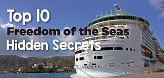 Top 10 Must Pack Cruise by Top 10 Freedom Of The Seas Secrets Royal Caribbean