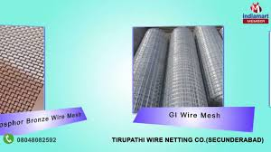 wire and welded mesh by tirupathi wire netting co secunderabad