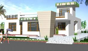 100 single story house elevation feet single floor bungalow