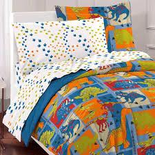 Blue Full Comforter Blue Green Dinosaur Block Bedding Twin Or Full Comforter Set Bed