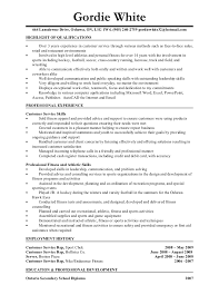 Trainer Resume Sample by Personal Training Resume