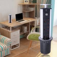 1pc au eu us plug electrical power outlet kitchen worktop desk