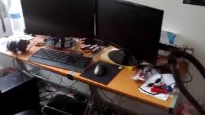mon bureau fabriquer bureau gamer avec pc gamer 2013 mon bureau