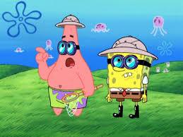 kartun spongebob fishing