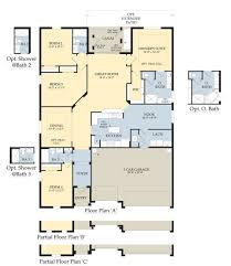 garage floor plans with living space mango 1 story home floor plan 2 301 sq ft of living space