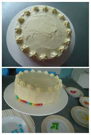 hervé cuisine rainbow cake rainbow cake génoise et crème au beurre vanillée les