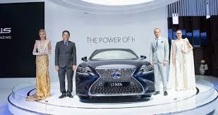 hang xe lexus tai viet nam lexus ls 500h 2018 lần đầu xuất hiện tại việt nam tin quảng bình