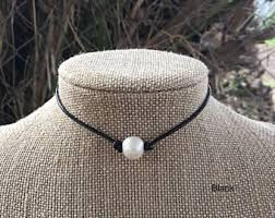 etsy necklace pearl images Real pearl necklace etsy jpg