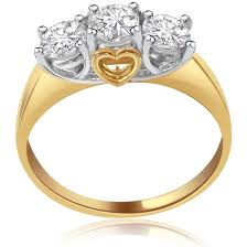 diamond prices rings images 3 diamond rings buy trendy classic 18kt diamond gold ring at jpg