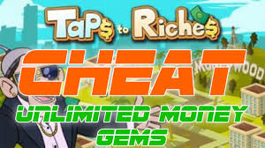 taps to riches cheats android ios youtube