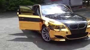 bmw e60 gold bmw m5 e60 black n gold