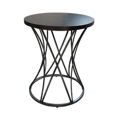 round silver accent table round silver end table table decoration ideas