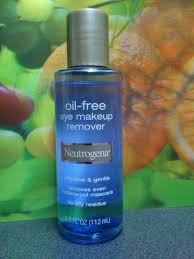 nuetrogena oil free makeup remover