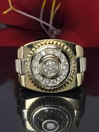 men gold rings 14k gold men s rolex ring men ring rings