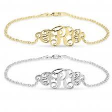 monogram bracelets monogram bracelets