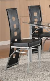 coaster fine furniture 101681 101682 los feliz metal dining table set