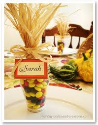 12 simple thanksgiving place card ideas