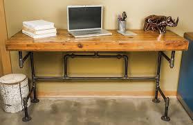 diy pipe computer desk wood metals desk isabel pinterest metal desks pipe desk