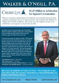 caribbean cruise line cruise law news injury cruise law news