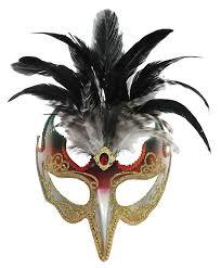 feather mask bird of paradise orange green feather mask unisex headband or