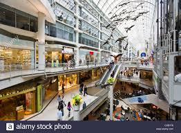 toronto eaton centre shopping mall toronto ontario canada