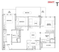 sims urban oasis 盛世名园 new singapore condo condo floor plan